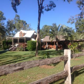 The Settlers Cottage and Stables 267 Duckpond Rd, Moolboolaman QLD 4671, Australia